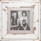 Quadratischer Altholz-Fotorahmen für ca. 14,8 x 14,8 cm große Fotos