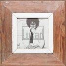 Quadratischer Vintage-Bilderrahmen für ca. 14,8 x 14,8 cm große Fotos