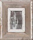 Wechselrahmen aus Altholz für kleine Fotos