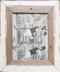 Bilderrahmen aus recyceltem Holz für 15 x 20 cm große Fotos