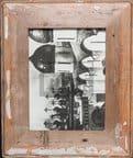 Bilderrahmen aus recyceltem Holz für die Bildgröße 15 x 20 cm