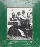 Wechselrahmen aus Altholz für Fotos 20 x 25 cm