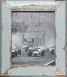 Bilderrahmen aus Recyclingholz für 20 x 25 cm Bildformat