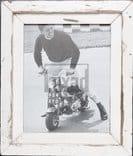 Bilderrahmen aus recyceltem Holz für Fotos 20 x 25 cm