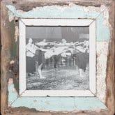 Quadratischer Vintage-Bilderrahmen von Luna Designs