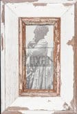Altholz-Panorama-Bilderrahmen für Fotos ca. 10,5 x 29,7 cm