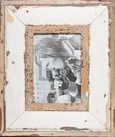 Vintage-Bilderrahmen mit breitem Rand