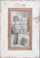 Panorama-Fotorahmen aus Recyclingholz für Fotos ca. 15 x 29,7 cm