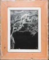 Bilderrahmen aus recyceltem Holz für Fotos ca. 21 x 29,7 cm