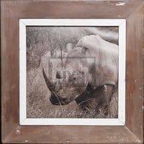 Quadratischer Holzrahmen für dein Lieblingsfoto