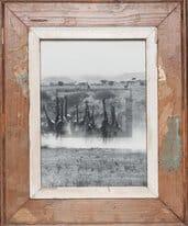 Altholz-Bilderrahmen für Fotos ca. 21 x 29,7 cm