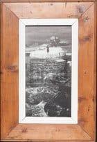 Panorama-Fotorahmen aus Recyclingholz von der Luna Design Company