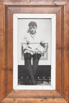 Schmaler Vintage-Bilderrahmen