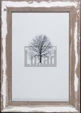 Bilderrahmen aus recyceltem Holz für Fotos 25 x 38 cm