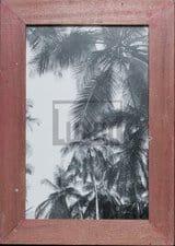 Bilderrahmen aus recyceltem Holz für die Bildgröße 25 x 38 cm