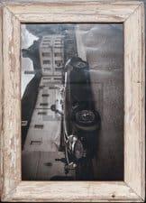 Vintage-Fotorahmen aus recyceltem Holz aus Kapstadt