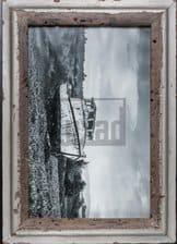 Altholz-Bilderrahmen für 25 x 38 cm große Fotos