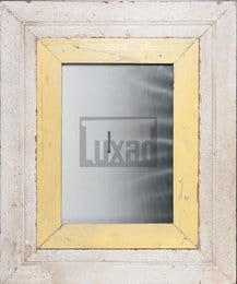 Vintage-Bilderrahmen mit breitem Holzrand für ca. 23 x 32 cm Fotos