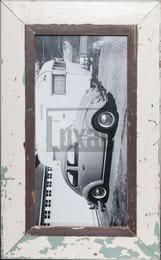 Panorama-Bilderrahmen aus recyceltem Holz für dein Lieblingsfoto