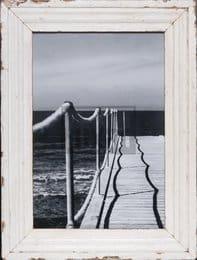 Bilderrahmen aus recyceltem Holz für Fotos ca. 29,7 x 42 cm
