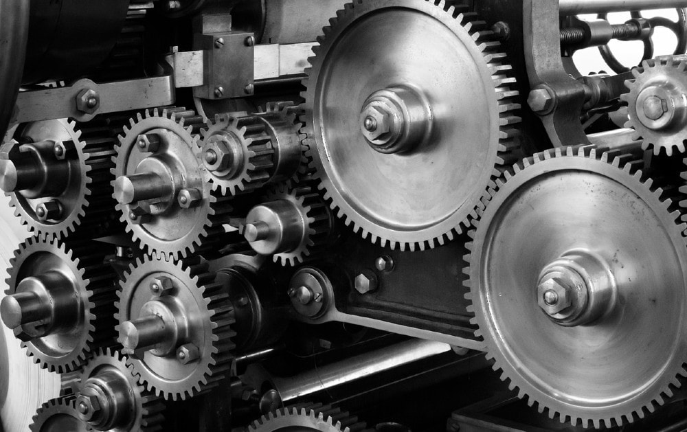 Outbound sales processes operate like machinery cogs