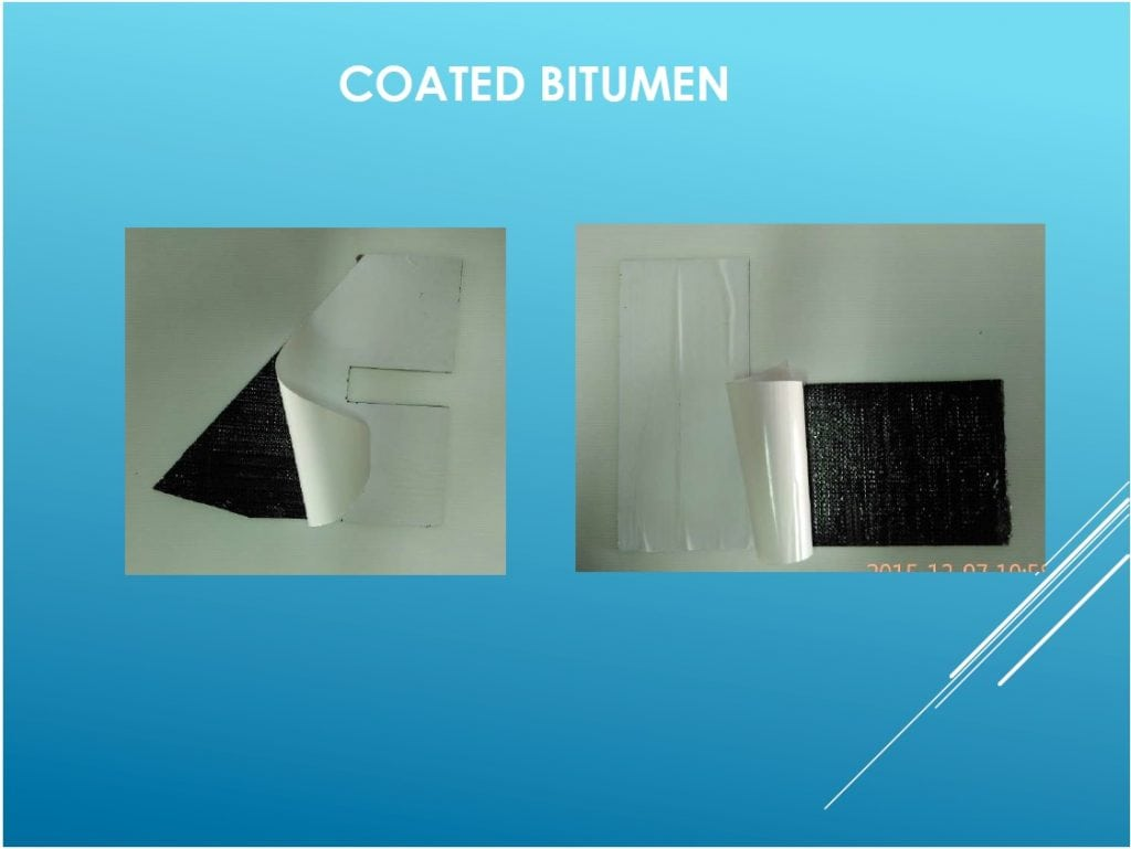 Coated Bitumen
