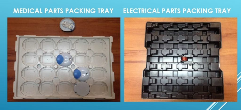 packing trays