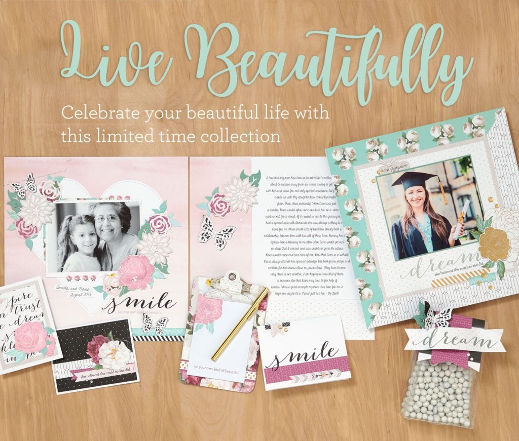 National Scrapbooking Month Live Beautifully