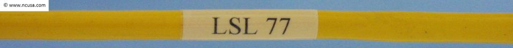 LSL 77 cable labels USA