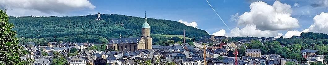 Annaberg-Buchholz im Erzgebirge