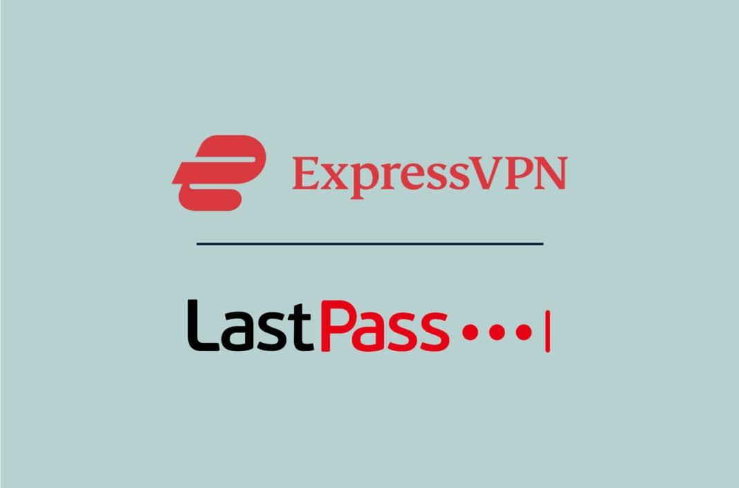 ExpressVPN and LastPass logos.