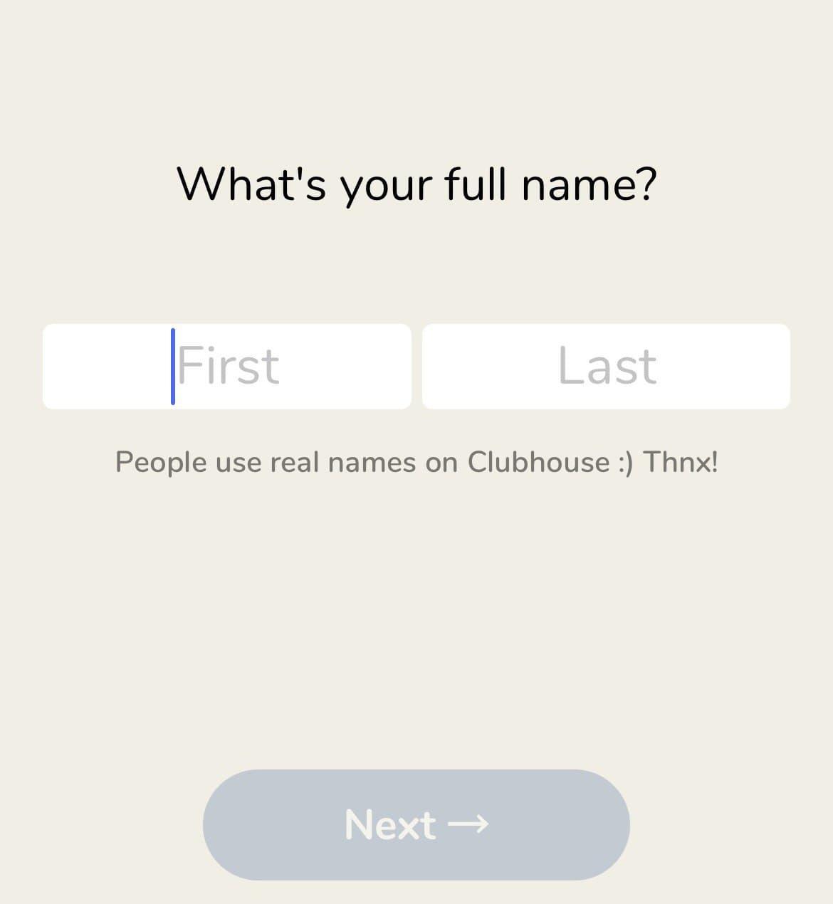 Clubhouse Screenshot