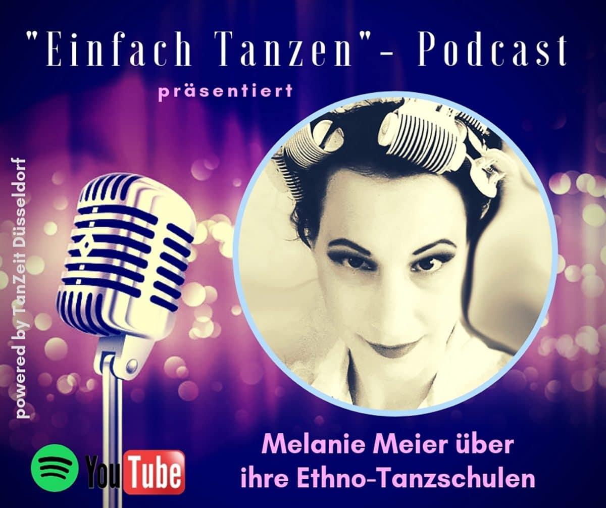 Einfach Tanzen-Podcast mit Melanie