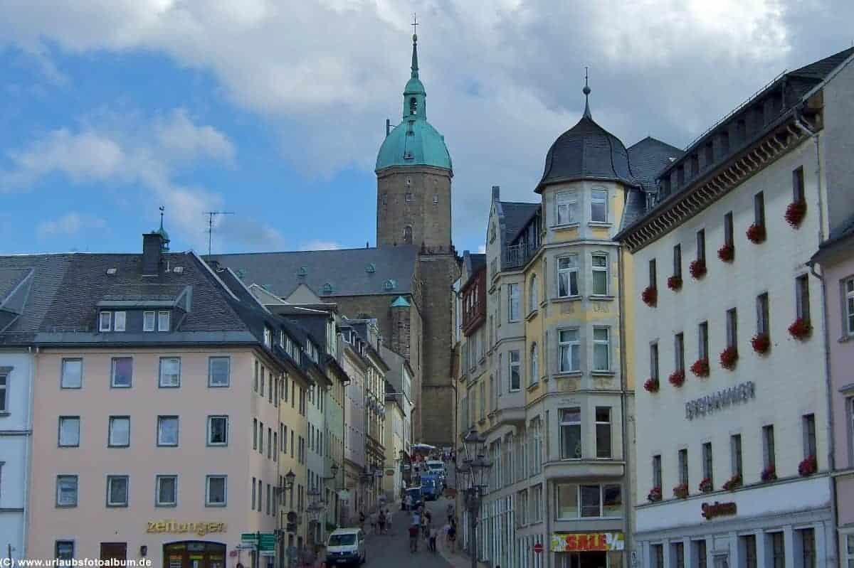 Sankt Annen Kirche Annaberg Buchholz Erzgebirge