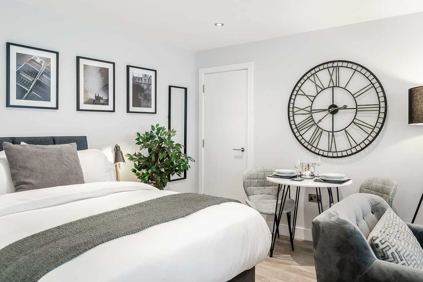 Tailored Stays Victoria Road modern serviced apartment studios 5 minutes from Cambridge town centre