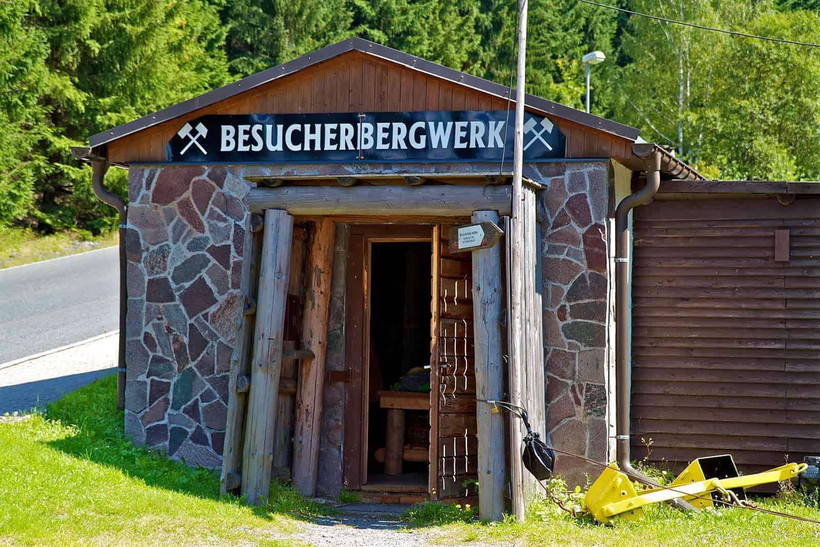 Besucherbergwerk Breitenbrunn