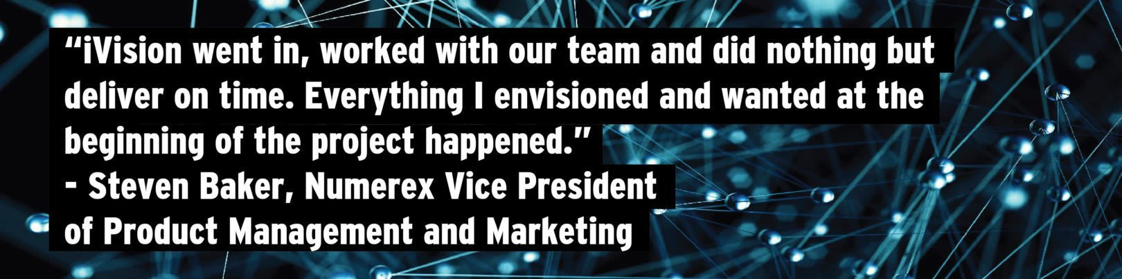 Numerex Corp. Engages iVision to Gain Visibility into IoT: Numerex Client Testimonial