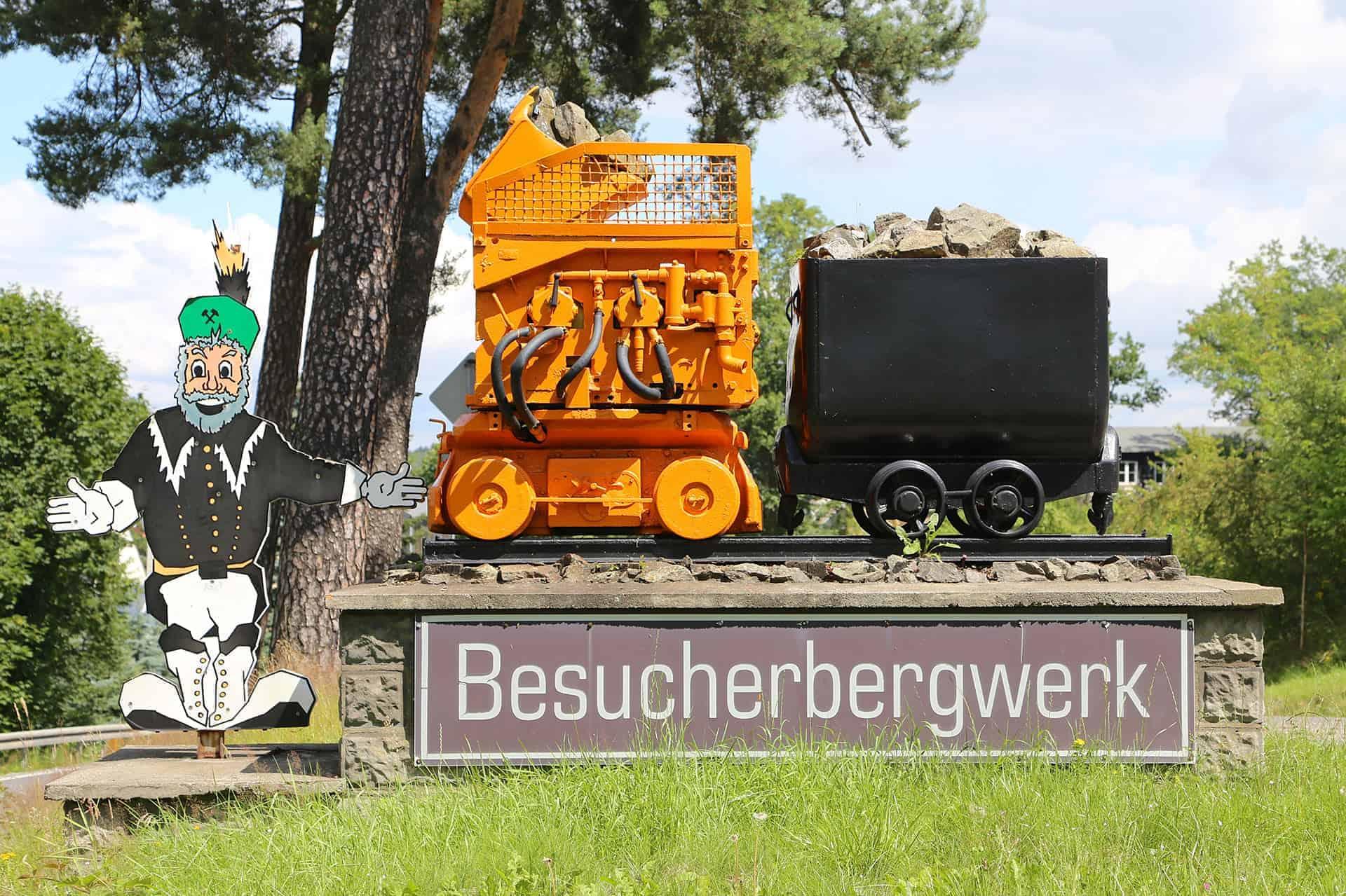 Besucherbergwerk Sauberg in Ehrenfriedersdorf