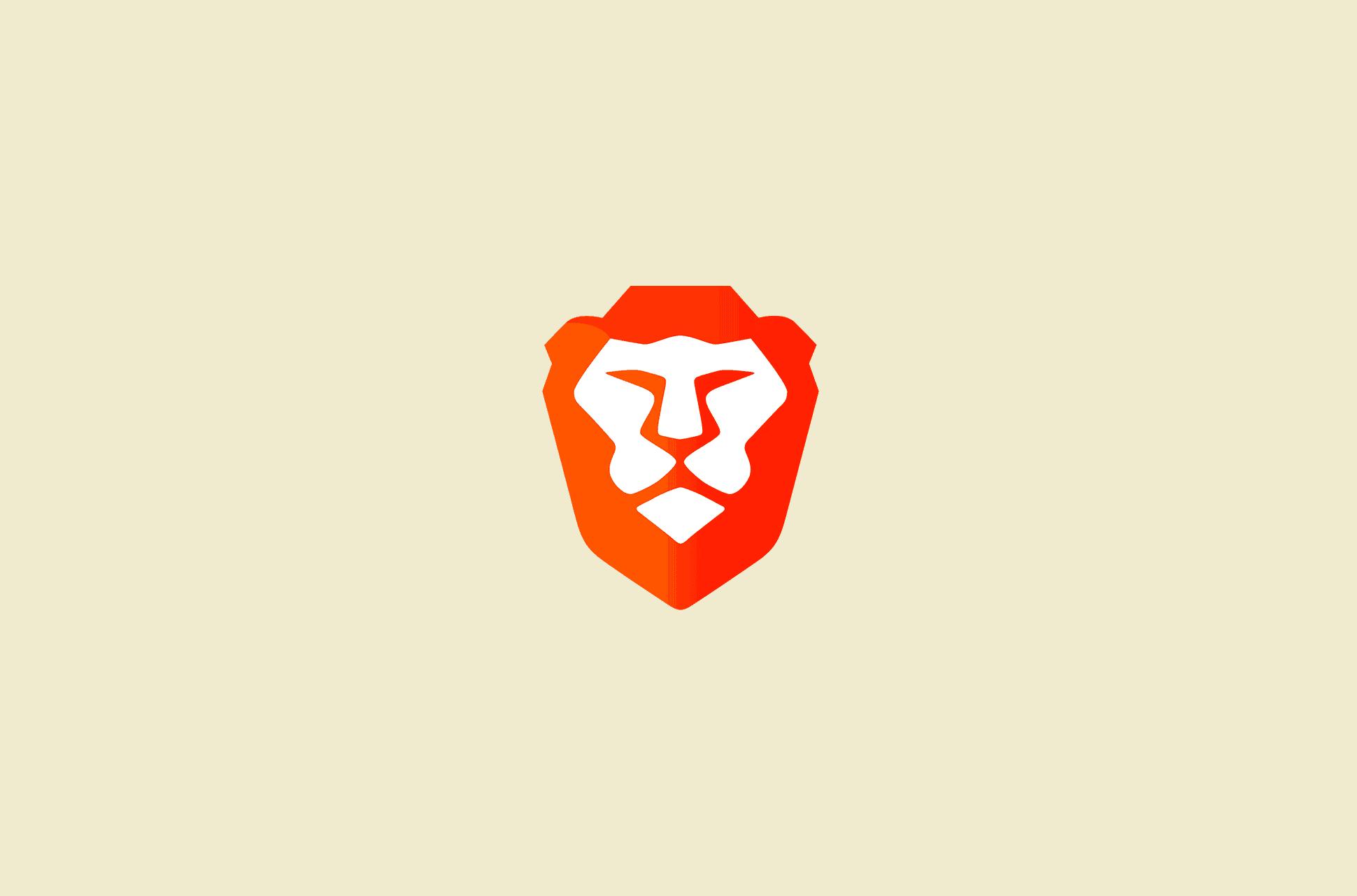 Brave browser logo.