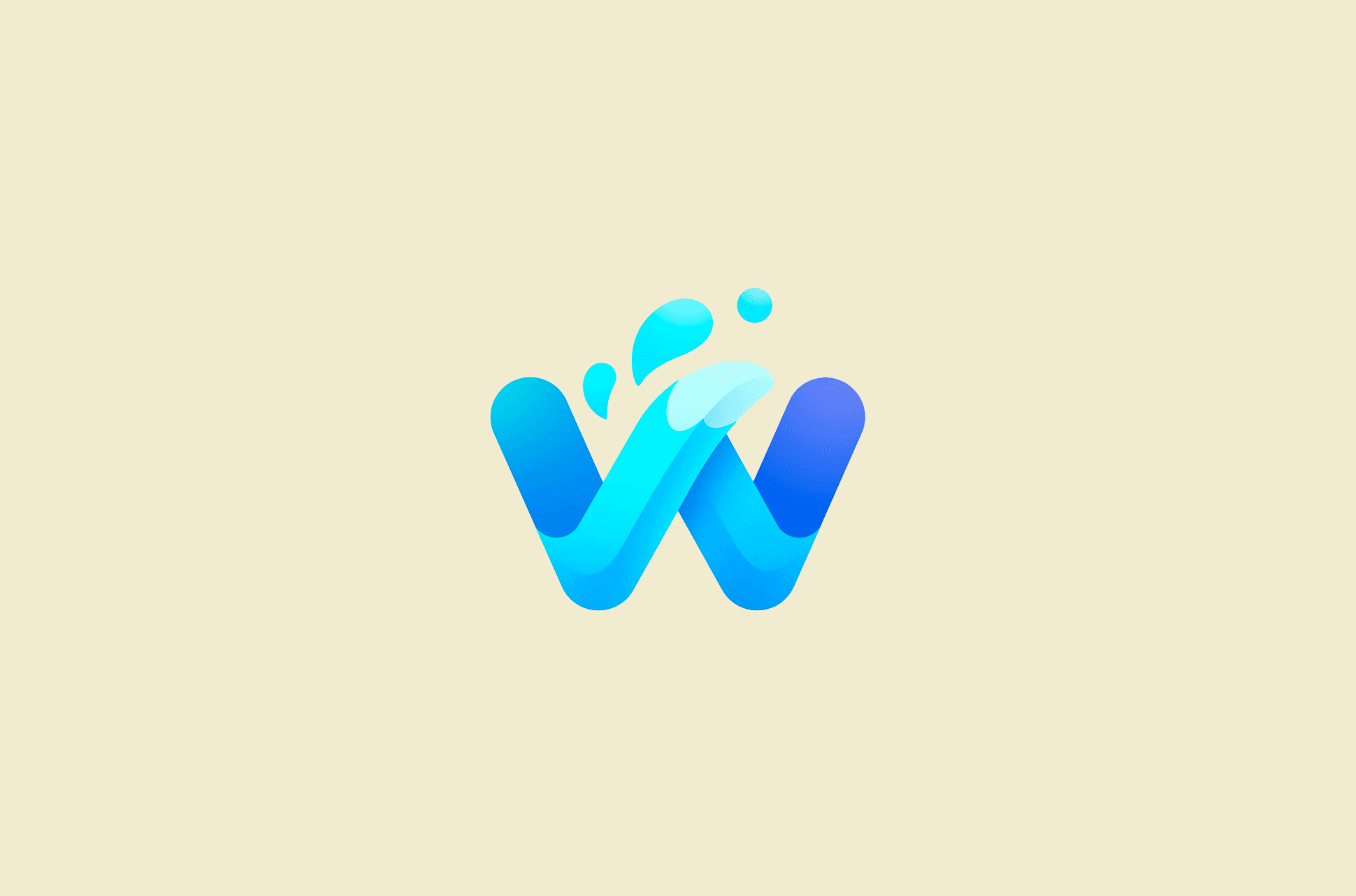 Waterfox browser logo.