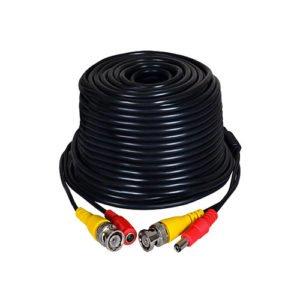 10 Metre Hazır CCTV Kablo Fabrikasyon BNC ve DC Jack Uçlu