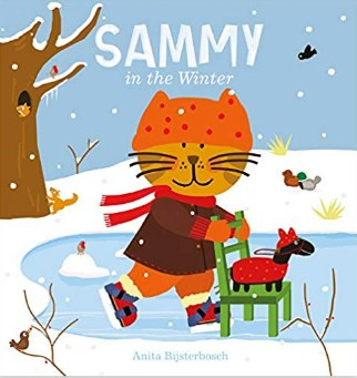 sammy in the winter