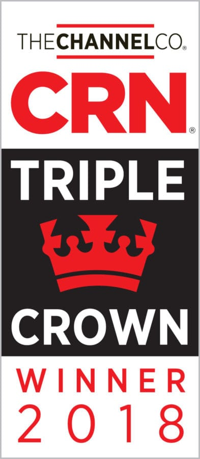 iVision awarded 2018 CRN Triple Crown Award