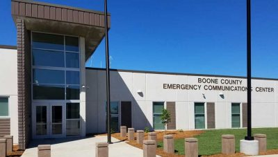 Boone County Emergency Operations Center.