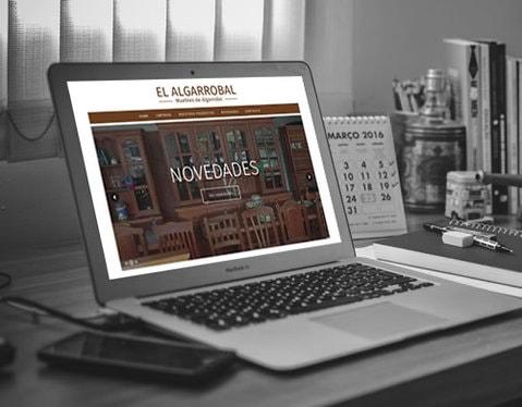 Sitio web El Algarrobal