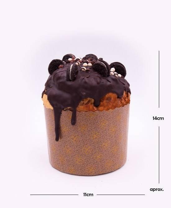 Panettone relleno chocolate
