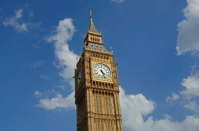 Elizabeth Tower. Which is where Big Ben is housed.