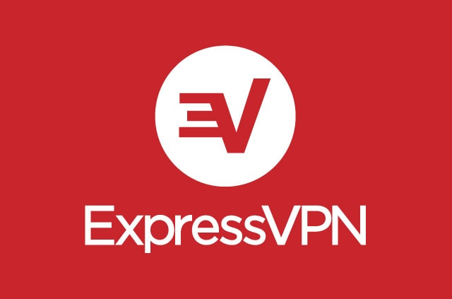 The ExpressVPN logo. It's beautiful.