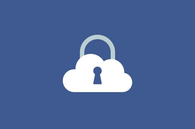 A cloud padlock.
