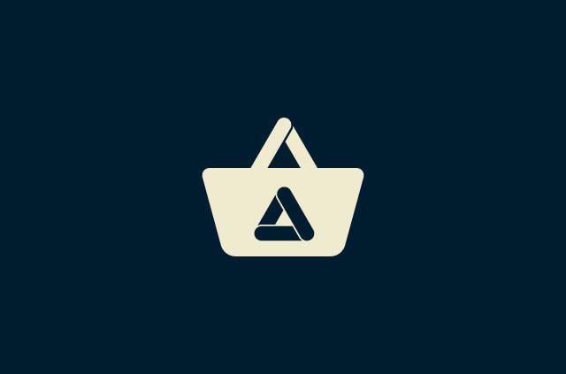 The Aurora Store Logo inside a shopping bag